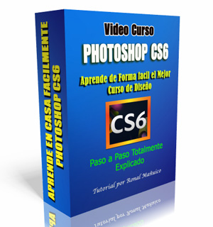 curso aprender photoshop cs6 paso a paso, tutorial en casa