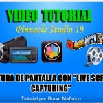 Captura de pantalla con live screen capturing graba lo que haces en la pc