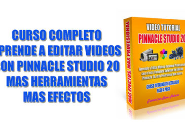 Curso de Pinnacle Studio 20 aprende editar videos